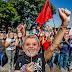 Acostumados a agredir gente indefesa, lacaios de Lula apanharam de torcida organizada em acampamento ilegal em Curitiba