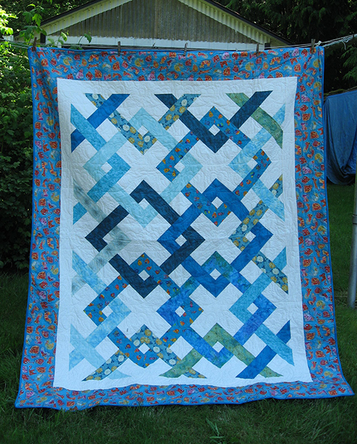 Fresh Connections Quilt designed by Jean Katherine Smith for Windham Fabrics featuring Fresh by Another Point of View