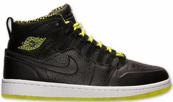 2467f6fe18d617 03 01 2014 Air Jordan 1 Retro  94 631733-030 Black Venom Green-Black  130.00