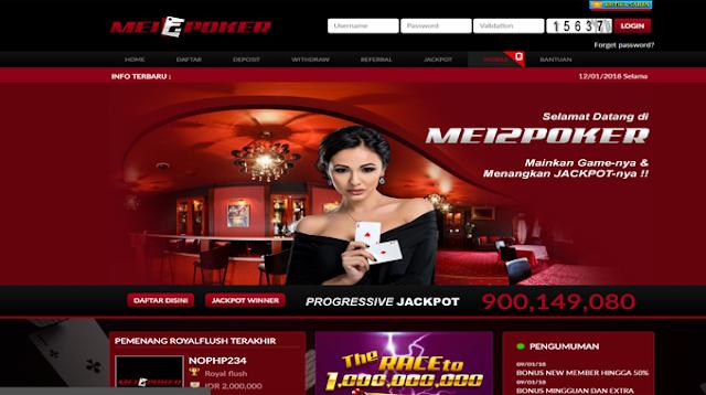 Mei2Poker Situs Game Judi Poker,Domino Dan Capsa Susun Online Terpercaya