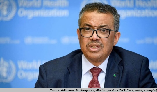 www.seuguara.com.br/Tedros Adhanom Ghebreyesus/OMS/Covid-19/pandemia/