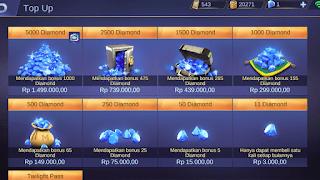 Cara Beli Diamond Mobile Legends Pakai Pulsa Terbaru