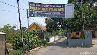 Ditanda Tangani Tokoh Agama, Banner Penolakan Syiah Terpasang di Jalan Probolinggo