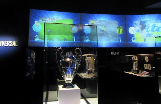 Troféu da Liga dos Campeões no Museu do FC Porto