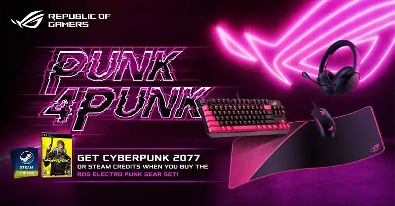 ASUS ROG Punk4Punk Promotion
