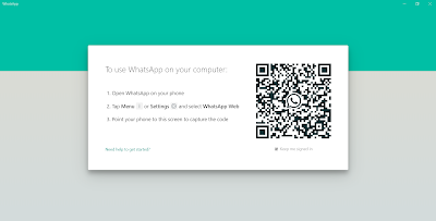 cara menggunakan whatsapp desktop