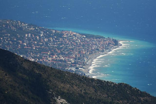 Bordighera, Ventimiglia e Nizza, l'eccezionale vista a 360° dal Pic de Baudon