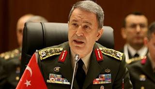 Menteri Pertahanan Turki Hulusi Akar