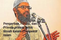 Pengertian, Fungsi, dan Prinsip-prinsip Kritik Ilmiah dalam Perspektif Islam