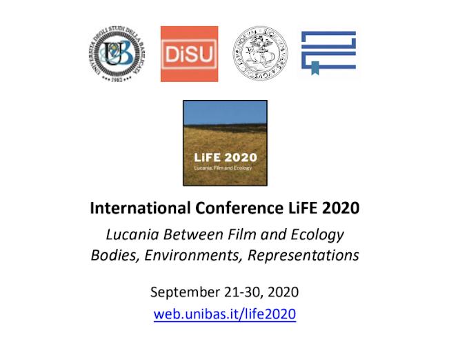Unibas: fino al 30/9 convegno internazionale 'LiFE 2020 - Lucania between Film and Ecology'