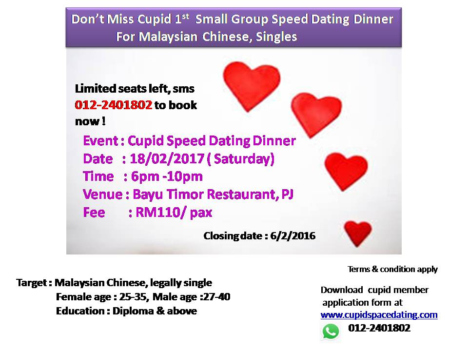 SMS speed dating