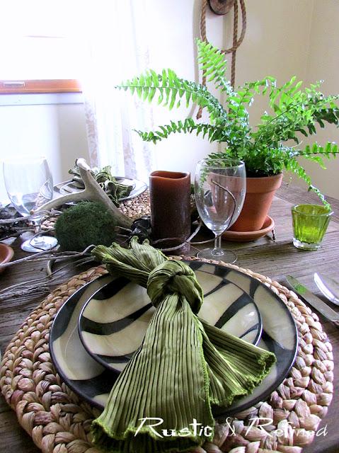 Spring Summer Tablescape