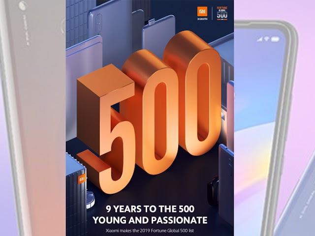 Xiaomi Masuk dalam Daftar Fortune Global 500 untuk Pertama Kalinya