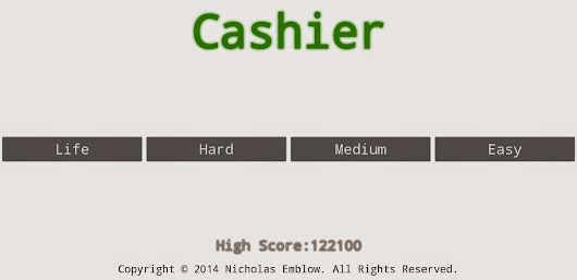 GAME REVIEW: Cashier