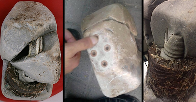 Unexplained Ancient Electrical Transformer Built in a Stone Discovered in Kosovo Mountains (Video)