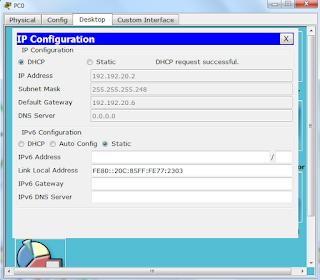 Cara Membuat Jaringan Komputer menggunakan DHCP Di Cisco Packet Tracer