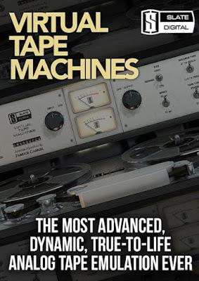 Cover do Plugin Slate Digital - Virtual Tape Machines 1.1.17.2