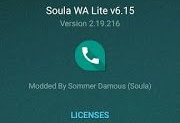 Soula WA Lite v6.15 Latest Version WhatsApp Mod Apk Download By Rmods65