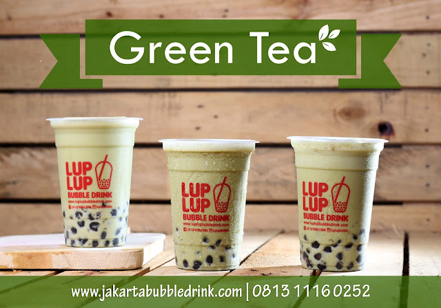 supplier bubuk green tea