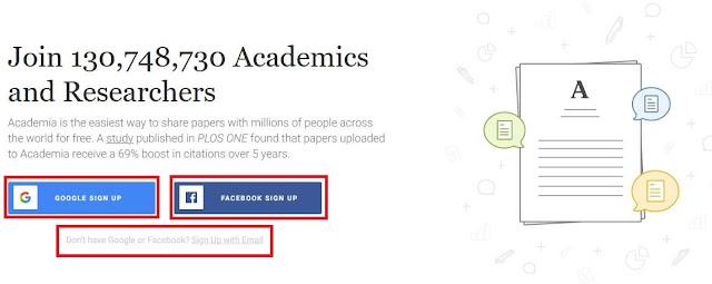 Cara Mendaftar Akun Academia.Edu