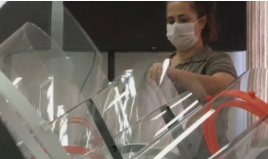 Unesp de Marília produz máscaras para profissionais da saúde