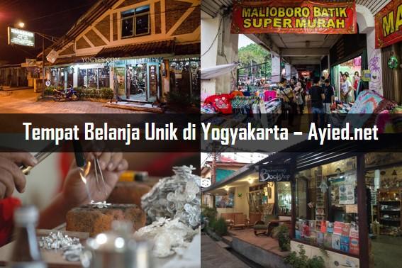 Tempat Belanja Unik di Yogyakarta
