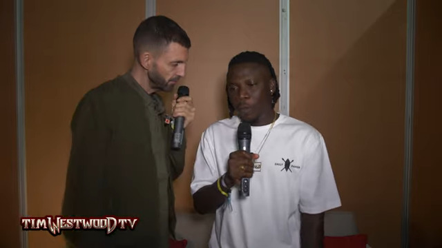 Stonebwoy Speaks to Tim Westwood about New Music and More