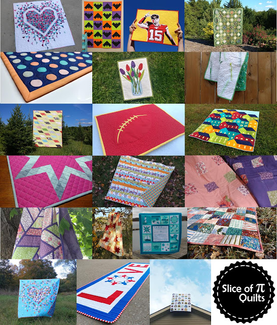 2020 quilts by Laura of Slice of Pi Quilts