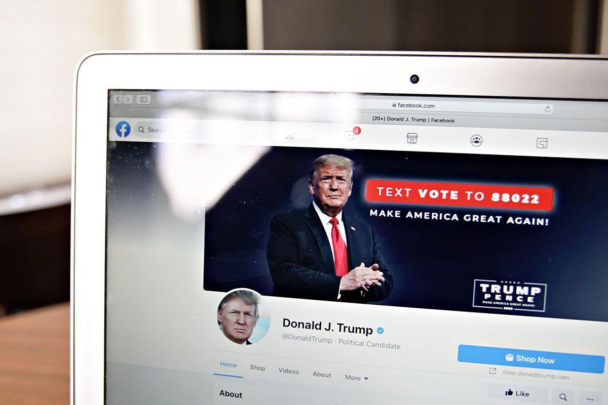 Donald Trump continuará vetado en Facebook e Instagram