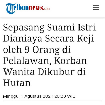 Polisi berhasil mengungkap kasus penganiayaan yang dilakukan sembilan orang terhadap sepasang suami istri di Desa Petodaan, Kecamatan Teluk Meranti, Pelalawan, Riau