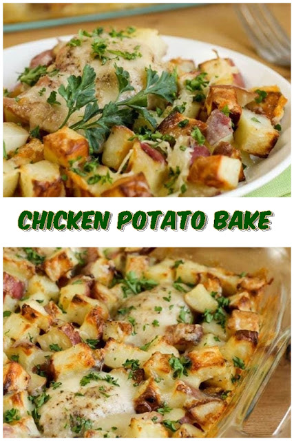 #Chicken #Potato #Bake #crockpotrecipes #chickenbreastrecipes #easychickenrecipes #souprecipes
