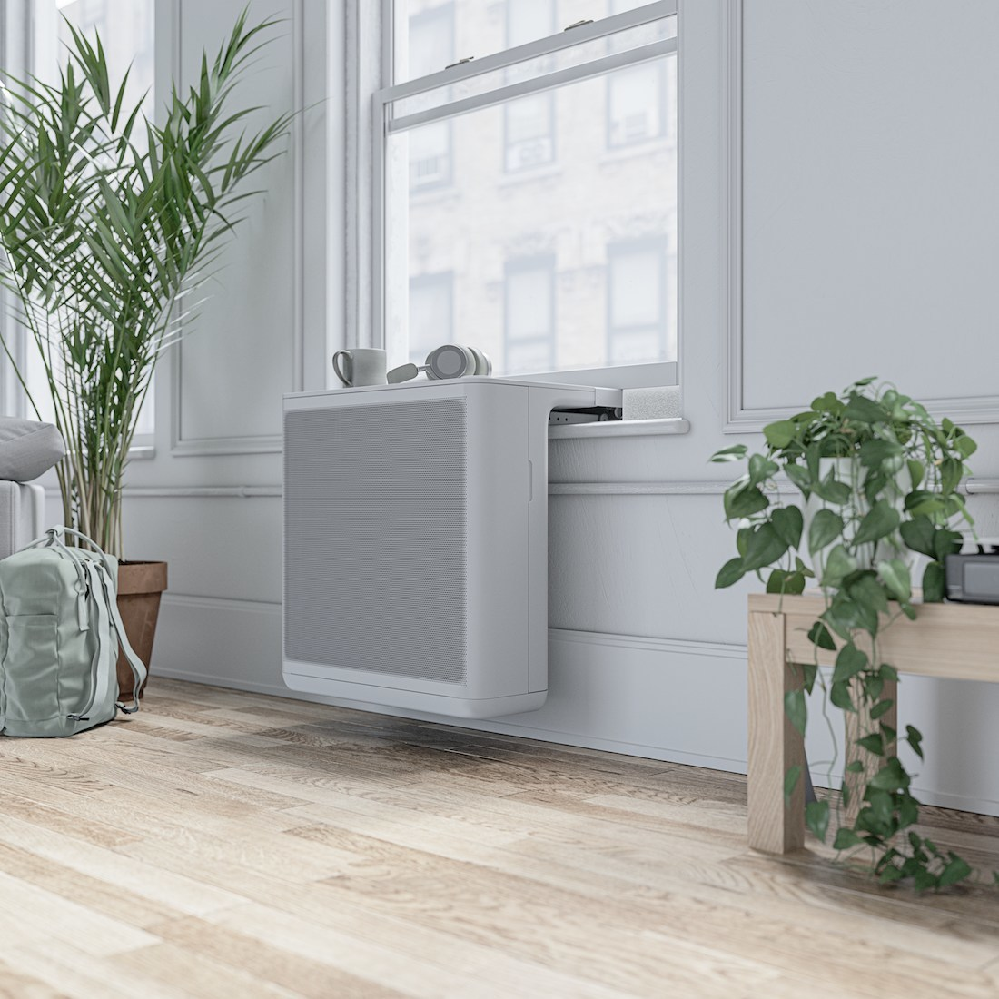 It's Time to Replace the Window AC. Introducing Gradient: Beautiful, Innovative, Climate-Friendly HVAC Solutions Designed for Consumer Needs