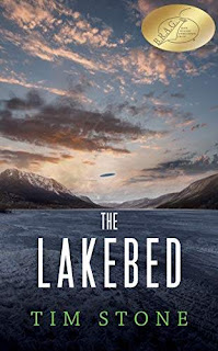 The Lakebed - a freakish sci-fi thriller book promotion Tim Stone