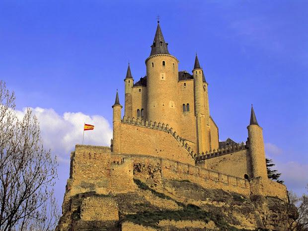 Alcazar Tower Segovia Spain