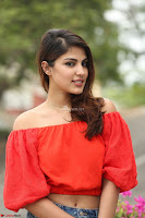 Rhea Chakraborty in Red Crop Top and Denim Shorts Spicy Pics ~  Exclusive 081.JPG