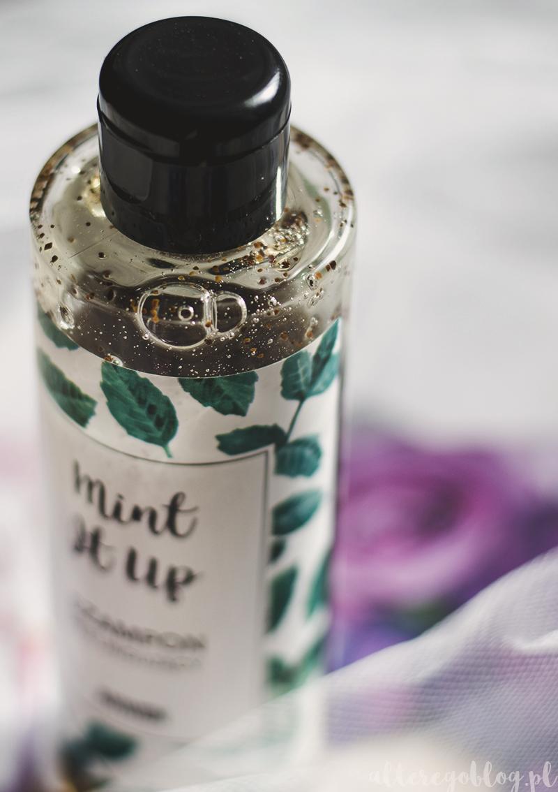 szampon anwen, peeling skory glowy, szampon mietowy, mint it up