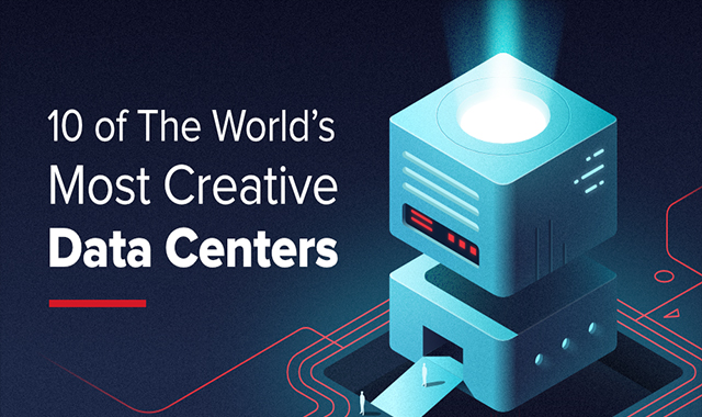The World's Most Creative Data Centers #infographic