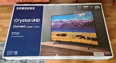 Samsung 55TU8300 Crystal Ultra HD ve Kavisli (Curved) 4K Smart Özellikli Televizyon İncelemesi