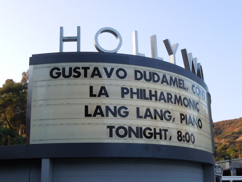 Dudamel and Lang Lang Hollywood Bowl 2011