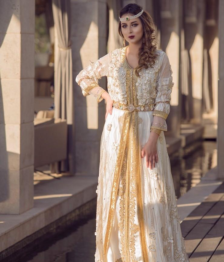 nouveau modèle caftan de mariage 2021