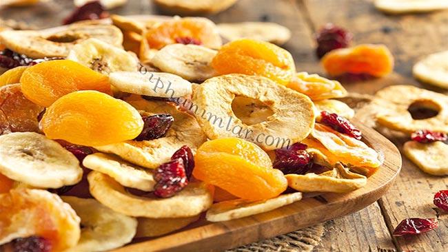 Fırında Meyve Nasıl Kurutulur? - www.viphanimlar.com