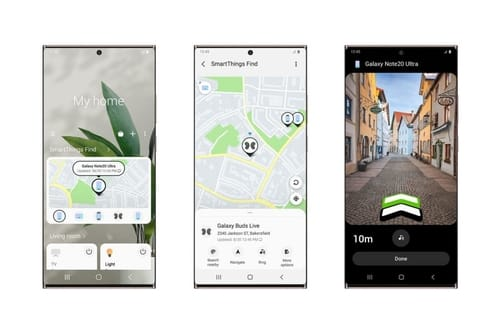 SmartThings app finds and tracks lost Galaxy devices