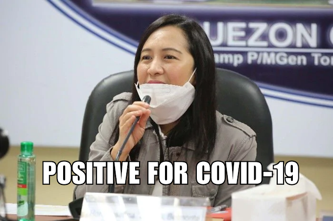 QC mayor Joy Belmonte tested positive for COVID-19