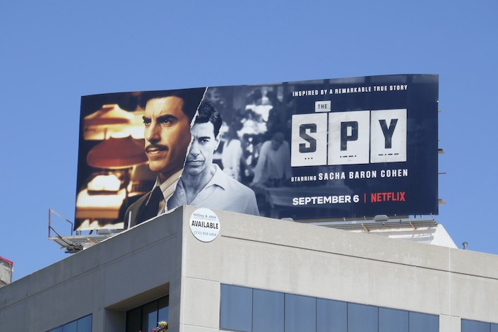 Spy limited series billboard