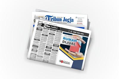 iklan Rumah Dijual di koran Tribun Jogja