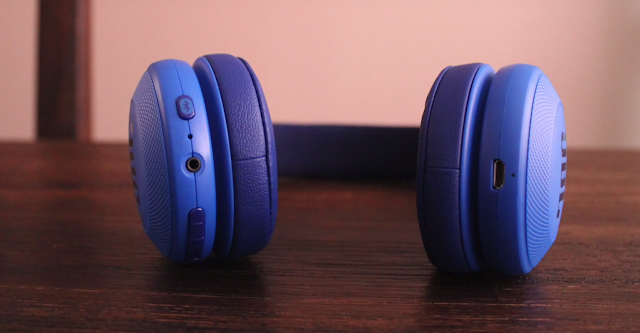 JBL E45BT headphone model 2017 with boosted bass response