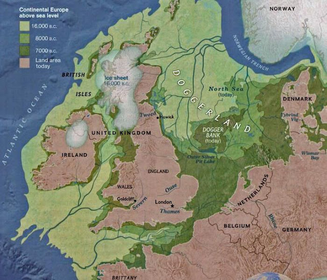 New study suggests parts of Doggerland survived ancient tsunami