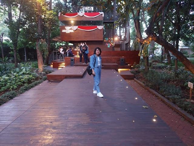 Arborea Cafe, Menikmati Nuansa Hutan di Tengah Kota Jakarta