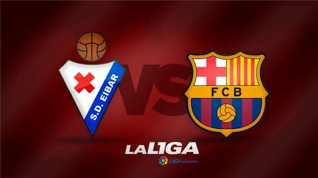 مباراة برشلونة وايبار بث مباشر