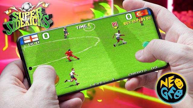 Super Sidekicks 2 Para Teléfonos Android (ROM NEOGEO)